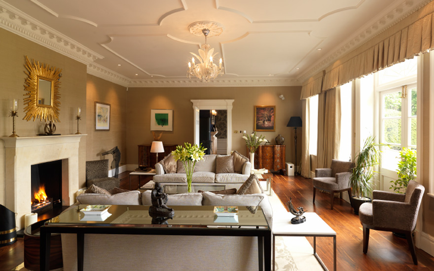 Delamere Manor Drawing Room - Get Married at Gary Barlow's Old Home   Confetti.co.uk