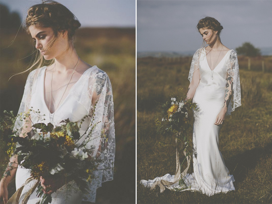 The Faith Dress from the Zena May Collection - Rolling in Roses - Bridal Tattoos | Confetti.co.uk