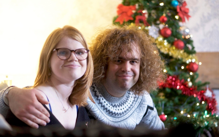 Daniel and Lily from Undateables