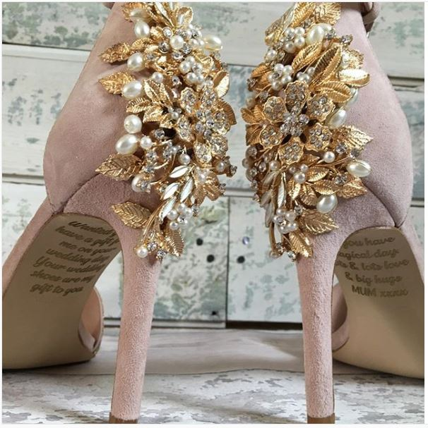 wedding shoes from lace and love