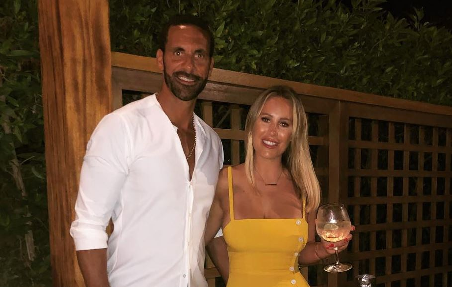Kate Wright Reveals Her and Rio Ferdinand's Wedding Planning Style