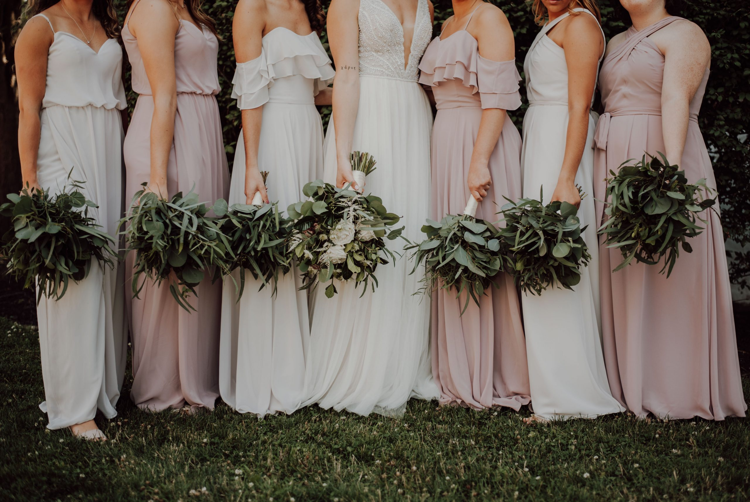 Pink Bridesmaid Dresses The Prettiest Gowns For Your Girls Confetti