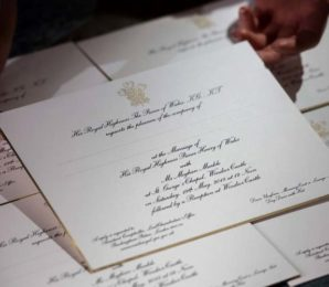 The Royal Wedding Invitations Have Been Revealed