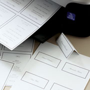 Table Planner and Place Cards