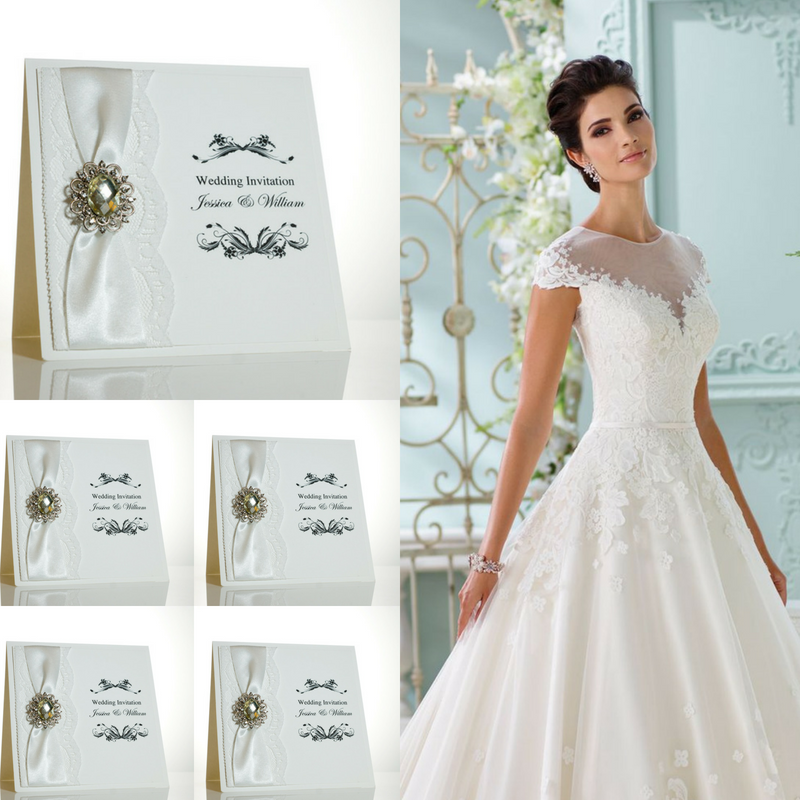 10% - 25% discount off all personalised wedding invitations